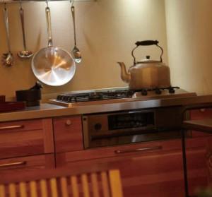 ウッドワンオークのキッチン