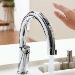 コロナ禍で人気のタッチレス水栓